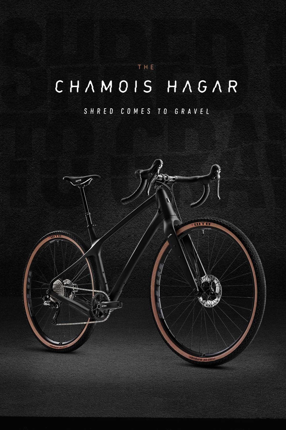 The Chamois Hagar 700 X 50c Gravel Bike Evil Bike Co