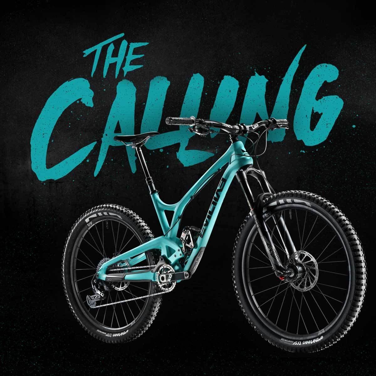 """The Calling - 27 5"""" 131 mm travel Mountain Bike - Evil Bike Co"""
